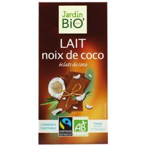 Jardin BIO Lait Noix de Coco, шоколад, органический шоколад, киев, купить