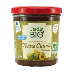 Jardin BIO Reine Claude, варенье из зеленой сливы, органическое варенье, купить, киев