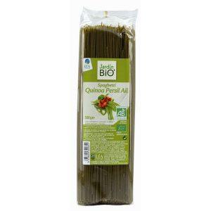 Jardin BIO Spaghetti Quinoa Persil Ail, спагетти, органические макароны, органические спагетти, киев, купить