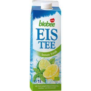 Voelkel Ice Tea Lemon, органический чай с мятой, холодный чай, киев, купить