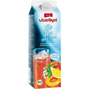 Voelkel Ice Tea Peach Lemon, органический чай с персиком, холодный чай, киев, купить
