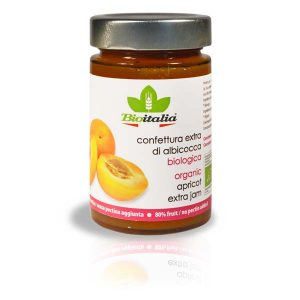 Bioitalia Apricot Extra Jam, органический джем, органическое варенье, конфитюр, купить, киев