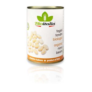 Bioitalia Navy Beans, органическая фасоль