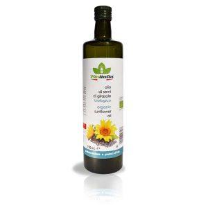 Bioitalia Sunflower Oil, подсолнечное масло, Bioitalia, масло, органическое масло, киев, купить