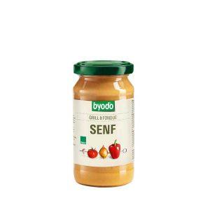 Byodo Barbecue & Fondue Mustard, органическая горчица