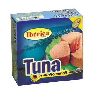 Iberica Tuna in Sunflower Oil, тунец, тунец в масле, тунец в подсолнечном масле, тунец украина, тунец купить, иберика, киев, купить