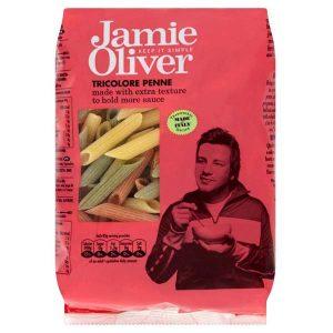 Jamie Oliver Tricolor Penne, паста, макароны, Джейми Оливер, органическая паста, органические макароны, киев, купить