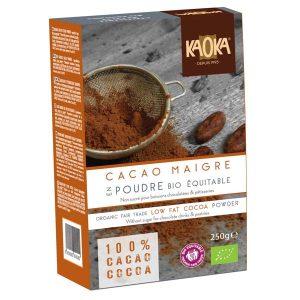 Kaoka Cacao Maigre, органическое какао
