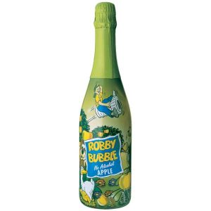 Robby Bubble Apple, детское шампанское, яблочное шампанское, безалкогольное шампанское, киев, купить