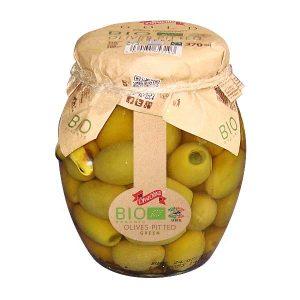 Diva Oliva Olives Pitted BIO, дива олива, оливки, зеленые оливки, органические оливки