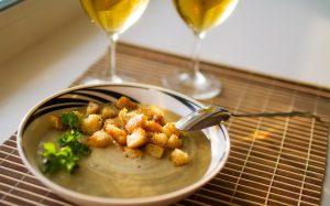 грибной крем суп, суп, грибной суп, рецепт