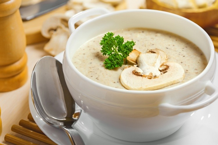 крем-суп, грибной суп, суп, суп-пюре