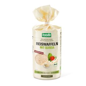 Byodo Reiswaffeln mit Quinoa, рисовые, хлебцы, без глютена, купить, Украина