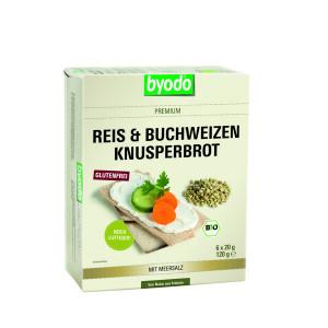 Byodo Reis und Buchweizen, хлебцы, без глютена, глютен, glutenfree, gluten, Украина, купить, органические, рисовые, гречневые, byodo
