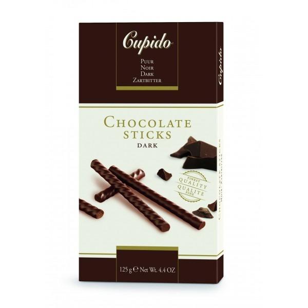 Трубочки_Купидо_темный шоколад 125 г. (5400265020723)